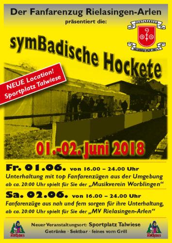 Symbadische Hockete 2018