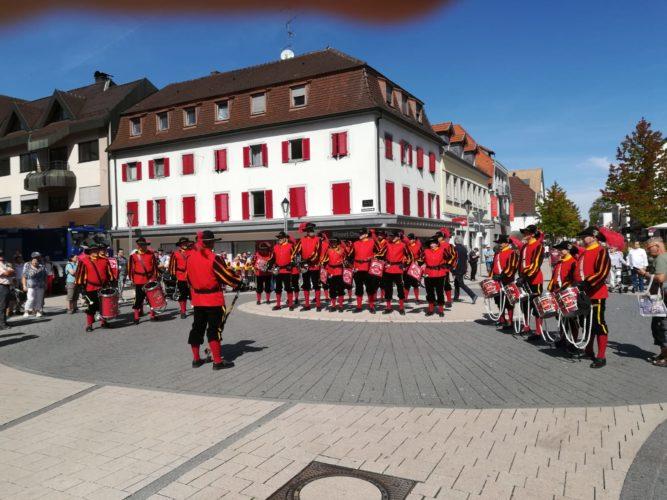 Drei Tage am 71. Bühler Zwetschgenfest...Dienstreise des FZ Rielasingen-Arlen 2018 ....ein voller Erfolg....